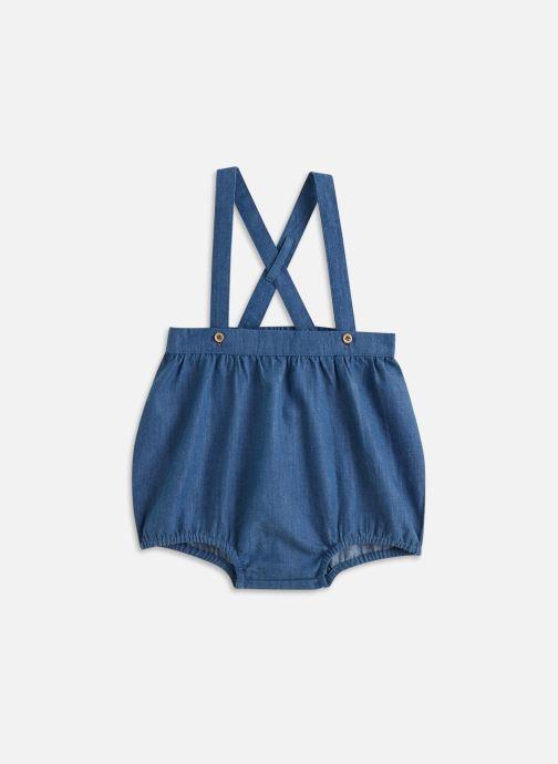 Vêtements Cyrillus Bloomer bretelles Bleu vue détail/paire