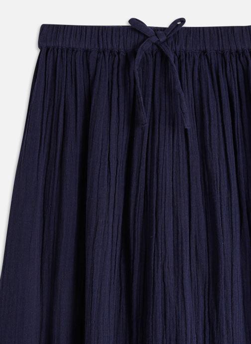 Vêtements Cyrillus Jupe longue Bleu vue portées chaussures
