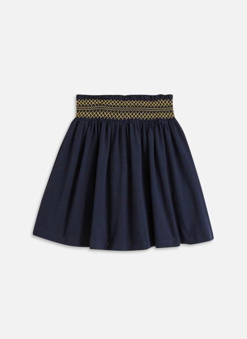 Vêtements Cyrillus Jupe maille smock Bleu vue bas / vue portée sac