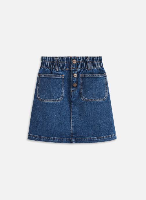 Vêtements Cyrillus Jupe poches plaquées Bleu vue détail/paire