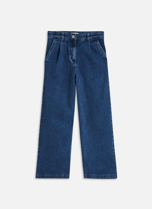 Vêtements Cyrillus Pantalon large mode Bleu vue détail/paire