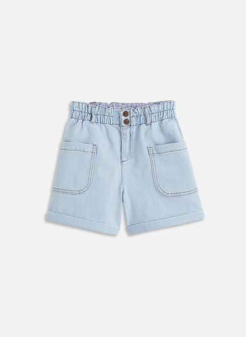 Vêtements Cyrillus Short poches côtés Bleu vue détail/paire