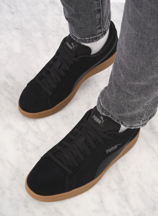 Sneakers Puma Puma Smash V2 Gum Nero immagine dal basso