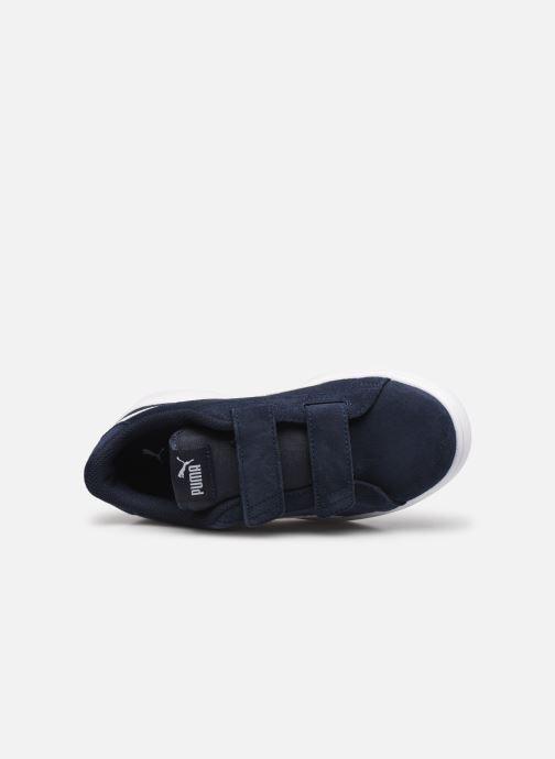 Sneakers Puma Ps Puma Smash V2 Sd V Blauw links