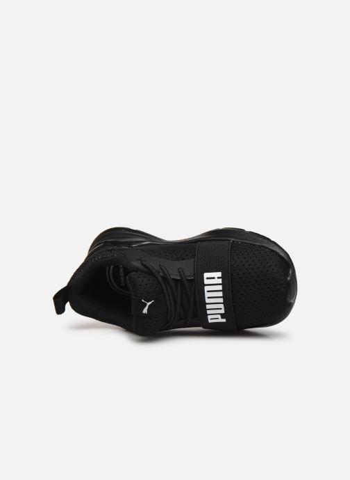 Sneaker Puma Inf Wired Run schwarz ansicht von links