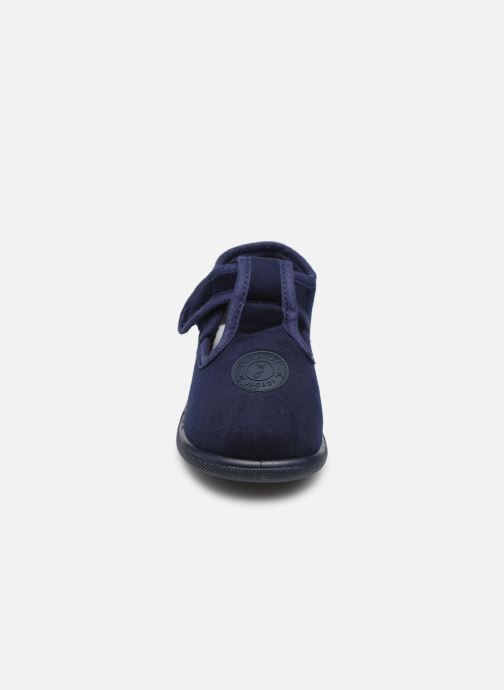 Pantofole Jacadi Cocoon Azzurro modello indossato