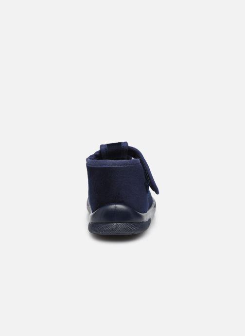 Pantofole Jacadi Cocoon Azzurro immagine destra