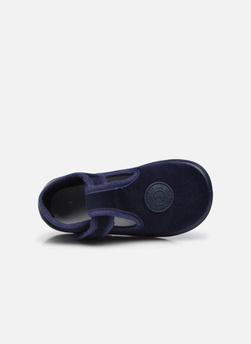 Pantofole Jacadi Cocoon Azzurro immagine sinistra