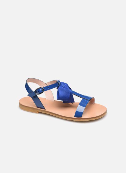 Sandales et nu-pieds Jacadi Marquise Bleu vue détail/paire