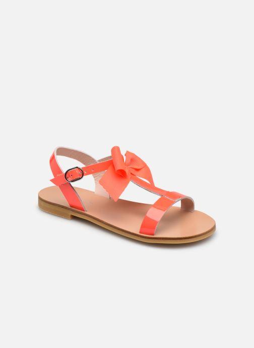 Sandales et nu-pieds Jacadi Marquise Rose vue détail/paire