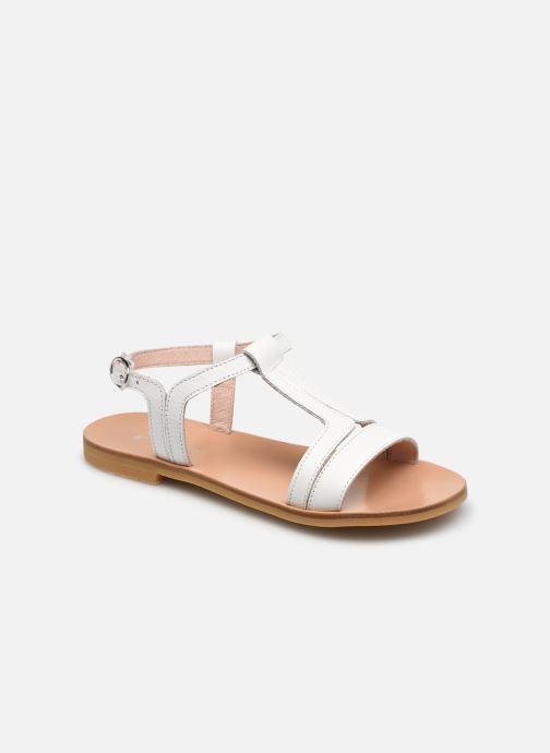 Sandales et nu-pieds Jacadi Delice Blanc vue détail/paire
