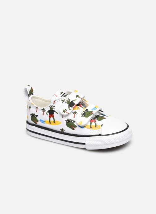 Sneakers Converse Chuck Taylor All Star 2V Croco Surf Ox Wit detail