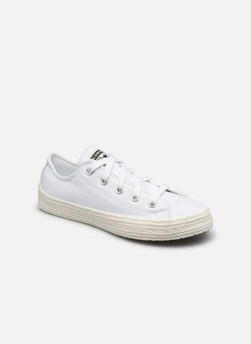 Sneaker Converse Chuck Taylor All Star Espadrille Ox weiß detaillierte ansicht/modell