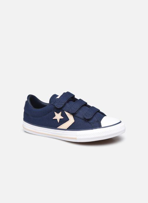 Sneaker Converse Star Player 3V Summer Daze Ox blau detaillierte ansicht/modell