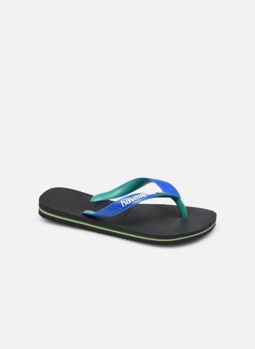 Slippers Havaianas Brasil Mix K Zwart detail