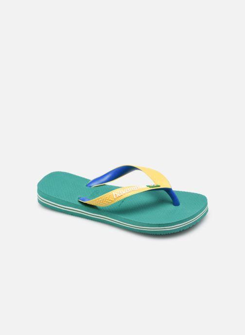 Slippers Havaianas Brasil Mix K Groen detail