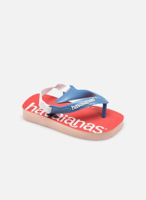 Slippers Havaianas Baby Logomania Roze detail
