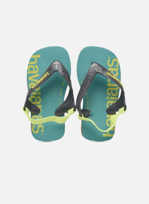 Slippers Havaianas Baby Logomania Groen model