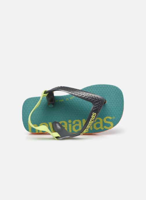 Slippers Havaianas Baby Logomania Groen links