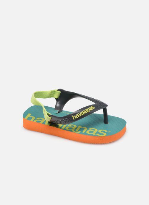 Slippers Havaianas Baby Logomania Groen detail