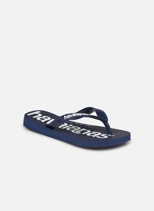 Slippers Havaianas Top Logomania Blauw detail