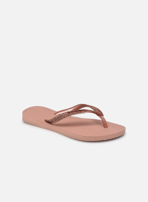 Slippers Havaianas Hav. Slim Glitter II K Roze detail