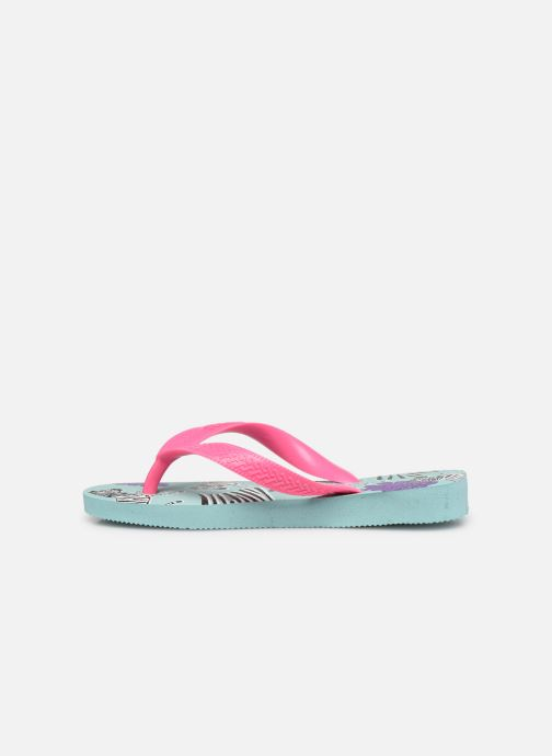 Slippers Havaianas Kids Top Fashion Blauw voorkant