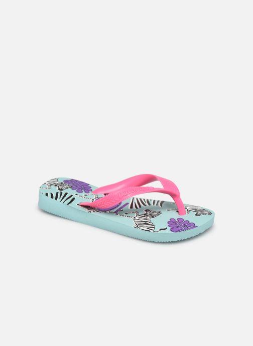 Tongs Havaianas Kids Top Fashion Bleu vue détail/paire