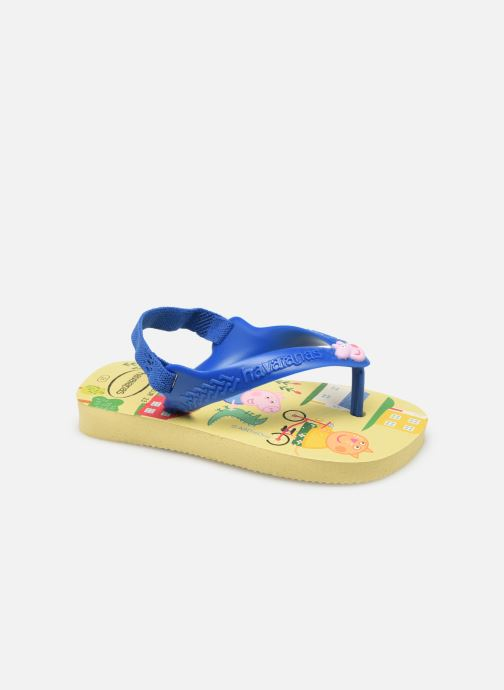 Zehensandalen Havaianas Baby Peppa Pig gelb detaillierte ansicht/modell