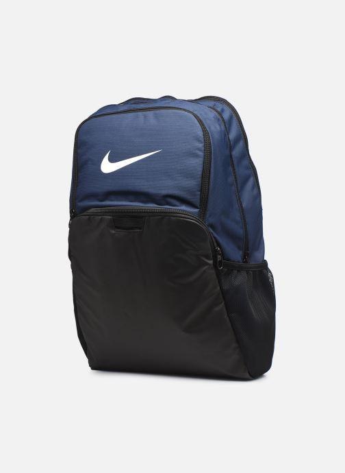 Zaini Nike Nk Brsla Xl Bkpk - 9.0 (30L) Azzurro modello indossato