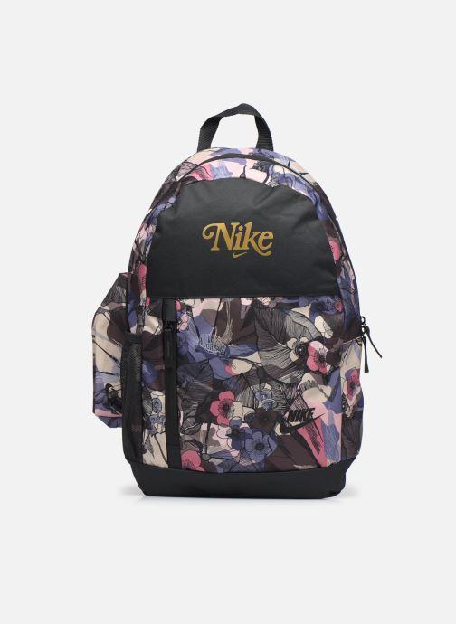 Sacs à dos Nike Y Nk Elemental Bkpk-Floral Fem Noir vue détail/paire