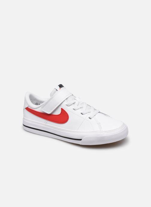 Deportivas Nike Nike Court Legacy (Psv) Blanco vista de detalle / par