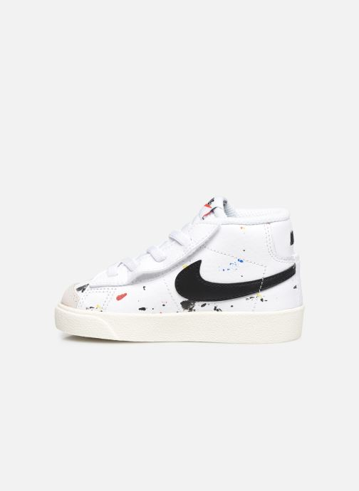 Sneakers Nike Blazer Mid '77 Bb (Td) Bianco immagine frontale