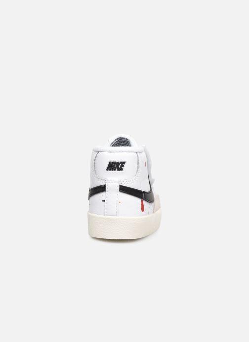 Sneakers Nike Blazer Mid '77 Bb (Td) Bianco immagine destra
