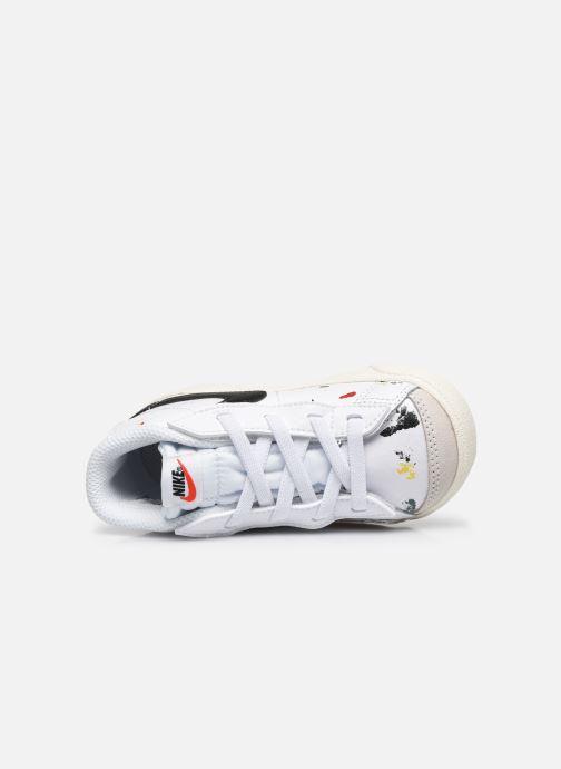 Sneakers Nike Blazer Mid '77 Bb (Td) Bianco immagine sinistra
