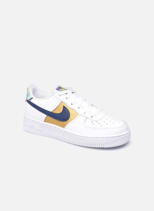 Sneaker Nike Nike Air Force 1 Low Lv8 Gs weiß detaillierte ansicht/modell