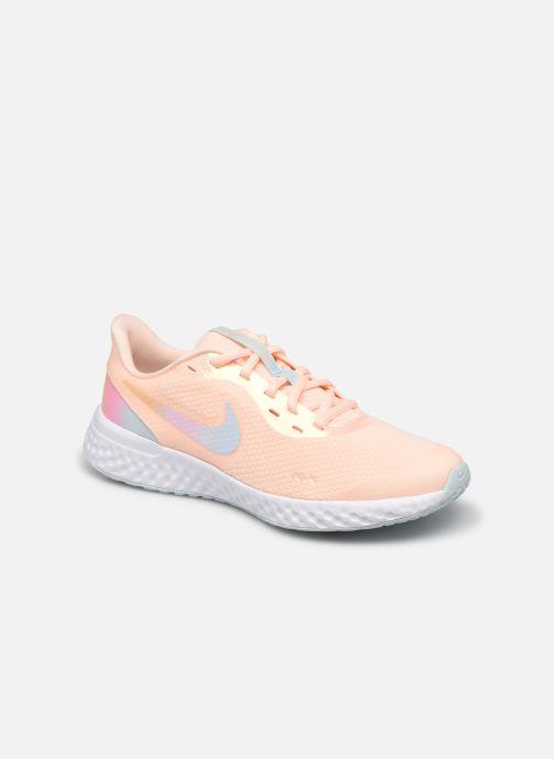 Deportivas Nike Nike Revolution 5 Se (Gs) Rosa vista de detalle / par