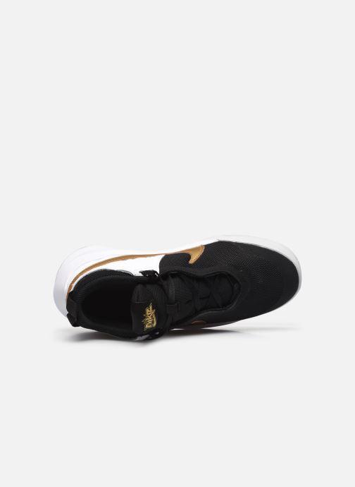 Sneakers Nike Team Hustle D 10 (Gs) Zwart links