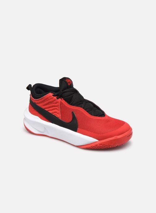 Baskets Nike Team Hustle D 10 (Gs) Rouge vue détail/paire