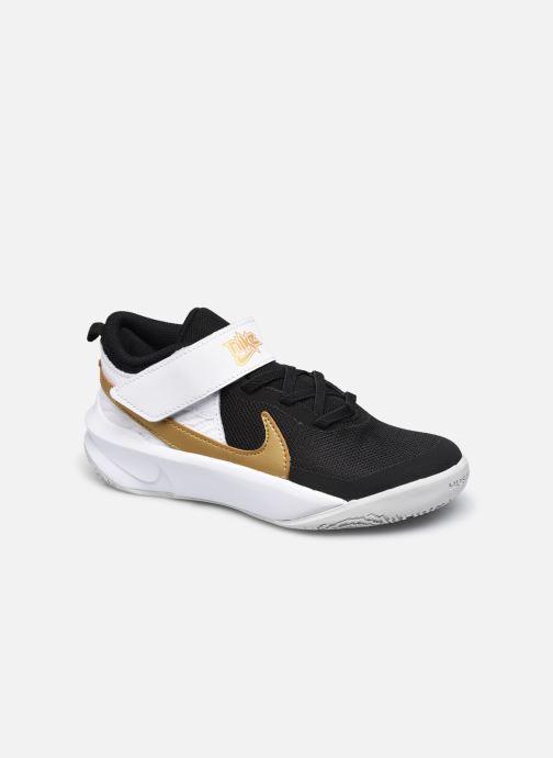 Baskets Nike Team Hustle D 10 (Ps) Noir vue détail/paire
