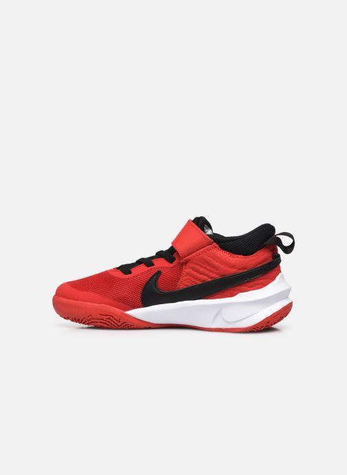 Sneakers Nike Team Hustle D 10 (Ps) Rood voorkant