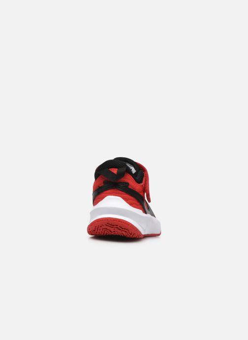 Sneakers Nike Team Hustle D 10 (Ps) Rood rechts