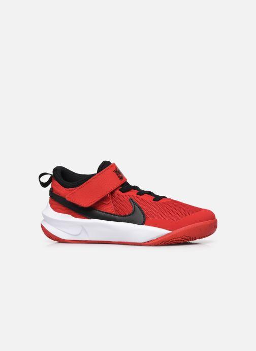Sneakers Nike Team Hustle D 10 (Ps) Rood achterkant