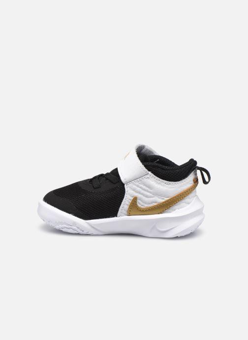 Sneakers Nike Team Hustle D 10 (Td) Zwart voorkant