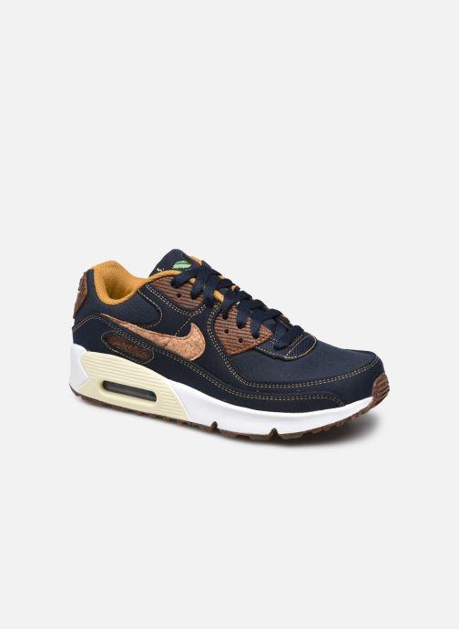 Sneakers Nike Nike Air Max 90 Se Ai Gs Blauw detail