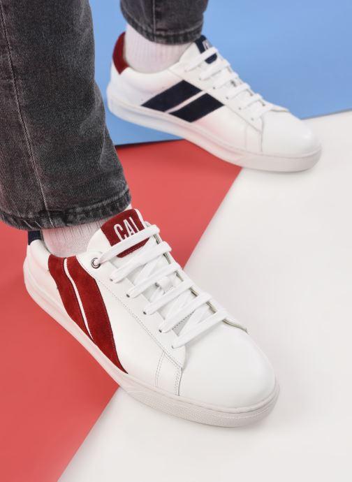 Sneaker Caval Slash M weiß ansicht von unten / tasche getragen
