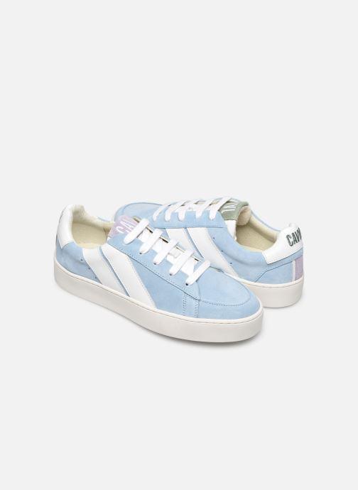 Sneakers Caval Slash plateforme W Blauw detail