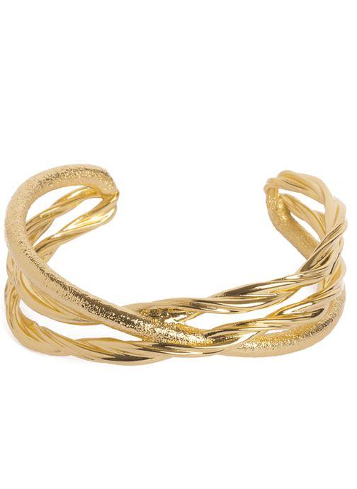 Sonstiges Emma & Chloé Bracelet Jonc Zeta gold/bronze detaillierte ansicht/modell