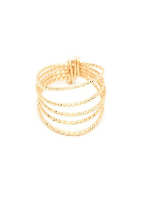 Sonstiges YAY Paris bague eclat Cinq Rangs or jaune sans pierre gold/bronze detaillierte ansicht/modell