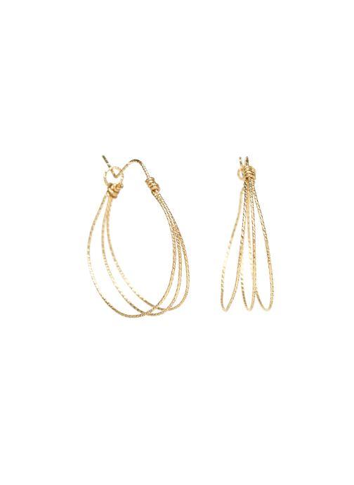 Diversos Accesorios Boucle d'oreilles eclat Triple or jaune sans pierre